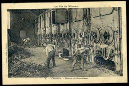 Cpa La Vie Du Mineur - 6 - Chaufferie -- Batterie De Générateurs    NCL34 - Mines