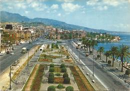 T2459 Messina - Passeggiata A Mare - Auto Cars Voitures / Viaggiata 1966 - Messina