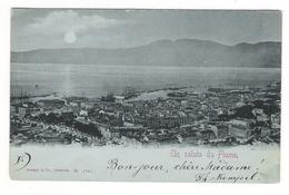 CROATIE  /  UN  SALUTO  DA  FIUME  /  CPA  PRECURSEUR  ( Cachet De LOVRANA , En 1899 ) - Croatie