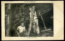 Cpa La Vie Du Mineur - 11 - Boisage D' Une Taille      NCL34 - Mines
