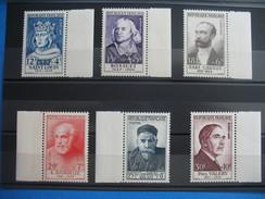 Timbres De   1954   Du  N°  989 à 994   Neuf ** Gomme D'origine Côte  186  €  (à Voir) - Ongebruikt