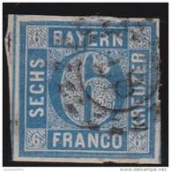 Bayern  .     Michel    .   10    .            O             .          Gebraucht  /  Cancelled - Bavaria