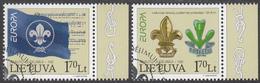 LITHUANIA  Michel  933/34  Very Fine Used - Lituanie