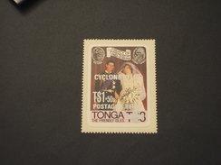 TONGA - 1982 CICLONE, Soprast. - NUOVO(++) - Tonga (1970-...)