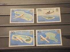 TUVALU - 1979 VEDUTE AEREE 4 VALORI - NUOVI(++) - Tuvalu