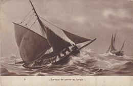 CPA Barque De Pêche Au Large (pk33350) - Pêche