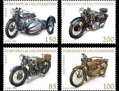 LIECHTENSTEIN 2016 Collections In Liechtenstein: Motorcycles