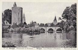 Brugge, Minnewater En Kruittoren (pk33351) - Brugge