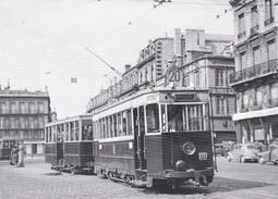 136T - Tram Ancien Place Pey-Berland à Bordeaux (33) - - Bordeaux