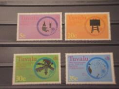 TUVALU - 1977 COMMISSIONE  4 VALORI - NUOVI(++) - Tuvalu