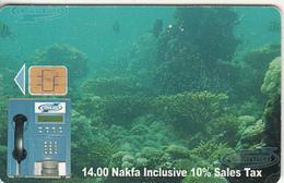 ERITREA - Underwater, CN : 0050, Used - Eritrea
