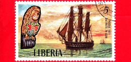 LIBERIA - Nuovo - 1972 - Velieri Famosi E Polene - Sailing Ships And Figureheads - Hogue 1811 - 5 - Liberia