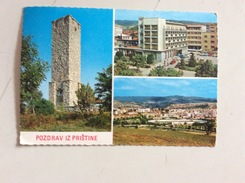AK KOSOVO PRISTINA PRISTHINA  ANSICHTSKARTE 1970 - Kosovo