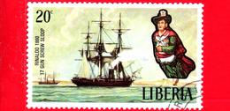 LIBERIA - Nuovo - 1972 - Velieri Famosi E Polene - Sailing Ships And Figureheads - Rinaldo, 1860 - 20 - Liberia