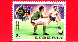 LIBERIA - Nuovo -1974 - Monaco, Mondiali Di Calcio - Football Cup - Australia-Germania E. - 2 - Liberia