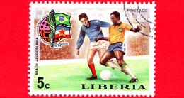 LIBERIA - Nuovo -1974 - Monaco, Mondiali Di Calcio - Football Cup - Brasile-Jugoslavia - 5 - Liberia