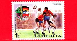 LIBERIA - Nuovo - 1974 - Monaco, Mondiali Di Calcio - Football Cup - Germania E. - Cile - 1 - Liberia