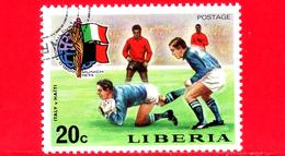LIBERIA - Nuovo - 1974 - Monaco, Mondiali Di Calcio - Football Cup - Italia-Haiti - 20 - Liberia