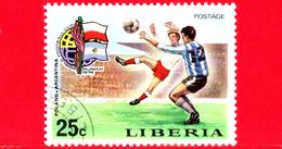 LIBERIA - Nuovo - 1974 - Monaco, Mondiali Di Calcio - Football Cup - Polonia-Argentina - 25 - Liberia