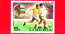 LIBERIA - Nuovo - 1974 - Monaco, Mondiali Di Calcio - Football Cup - Svezia-Bulgaria - 15 - Liberia