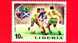 LIBERIA - Nuovo - 1974 - Monaco, Mondiali Di Calcio - Football Cup - Zaire-Scozia - 10 - Liberia