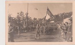 RABAT ( Sous Réserve ) - Photo Originale Défilé Militaire  9 X 14, Non Située . - Guerre, Militaire