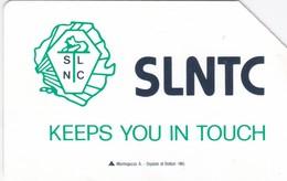 Sierra Leone, SRL-02, Green Logo SLNTC / Mantegazza Logo, 2 Scans. - Sierra Leone