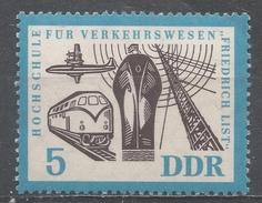 German Democratic Republic 1962. Scott #629 (MNH) Transportation And Communication * - [6] République Démocratique