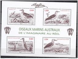 TAAF 2014 Yvert F693 Neuf ** Cote (2015) 8.10 Euro Oiseaux Marins Austraux - Blocs-feuillets