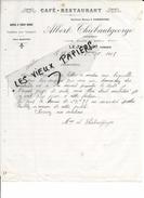 88 - Vosges - LE THILLOT - Facture THIEBAUTGEORGE - Café-restaurant - 1915 - REF 59B - 1900 – 1949