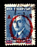 XP2210 - ALBANIA 1928 , Michel N. 170  USATO - Albania