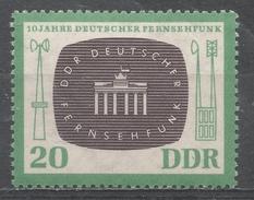 German Democratic Republic 1962. Scott #631 (MNH) DDR Television Signal * - [6] République Démocratique