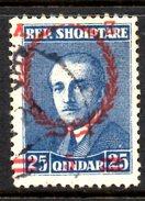 XP2214 - ALBANIA 1928 , Michel N. 170  USATO - Albania