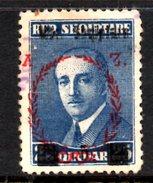 XP2216 - ALBANIA 1929 , Michel N. 200  USATO - Albania