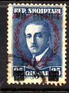 XP2218 - ALBANIA 1929 , Michel N. 200  USATO - Albania