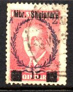 XP2220 - ALBANIA 1929 , Michel N. 201  USATO - Albania