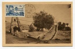 !!! CARTE MAXIMUM DU FEZZAN CACHET DE SEBHA - Fezzan (1943-1951)