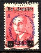 XP2224 - ALBANIA 1929 , Michel N. 201  USATO - Albania