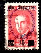 XP2225 - ALBANIA 1929 , Michel N. 201  USATO - Albania