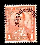XP2226 - ALBANIA 1928 , Michel N. 188  USATO - Albania
