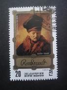Corée Du Nord N°1741 TABLEAU De Rembrandt Oblitéré