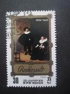 Corée Du Nord N°1741B TABLEAU De Rembrandt Oblitéré