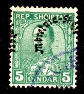XP2236 - ALBANIA 1928 , Michel N. 190  USATO - Albania