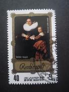 Corée Du Nord N°1741C TABLEAU De Rembrandt Oblitéré