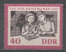 German Democratic Republic 1962. Scott #632 (MNH) Young Collectors And World Map, Stamp Day * - [6] République Démocratique