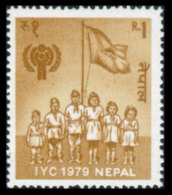 Nepal, 1979, International Year Of The Child, IYC, UNICEF, United Nations, MNH, Michel 377 - Nepal