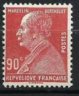 """Yt 243 """" Marcelin Berthelot 90c. Rouge """" Neuf **"""