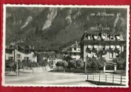 PRU-07  Saint-Maurice, Hotel De La Gare. Visa Censure 1939 ACF. Non Circulé - VS Valais