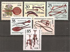 .DDR 1981 // Mi. 2640/2645 ** - [6] Democratic Republic