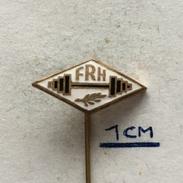 Badge (Pin) ZN004477 - Weightlifting (Dizanje Utega) FRH - Weightlifting